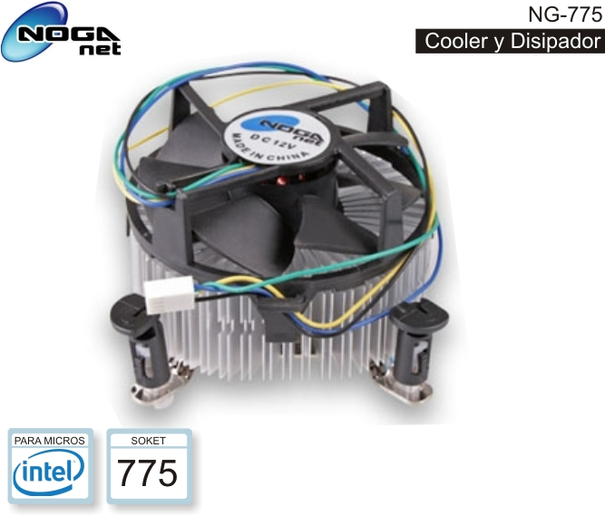 COOLER NOGA NG-775 (INTEL) SOK 775