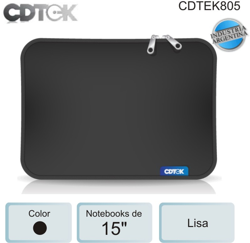 FUNDA 15P CDTEK 805 LISA
