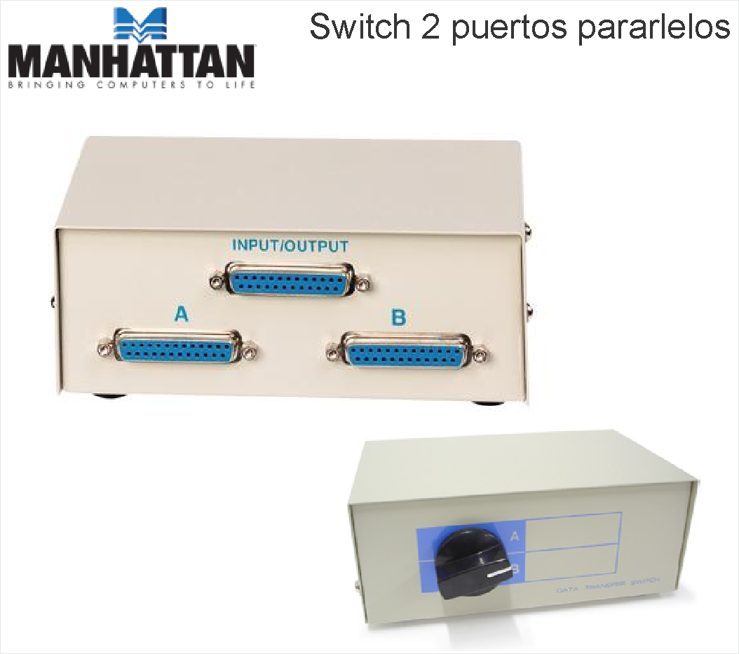 DATA SWITCH PARALELO 2 SALIDAS MANHATTAN
