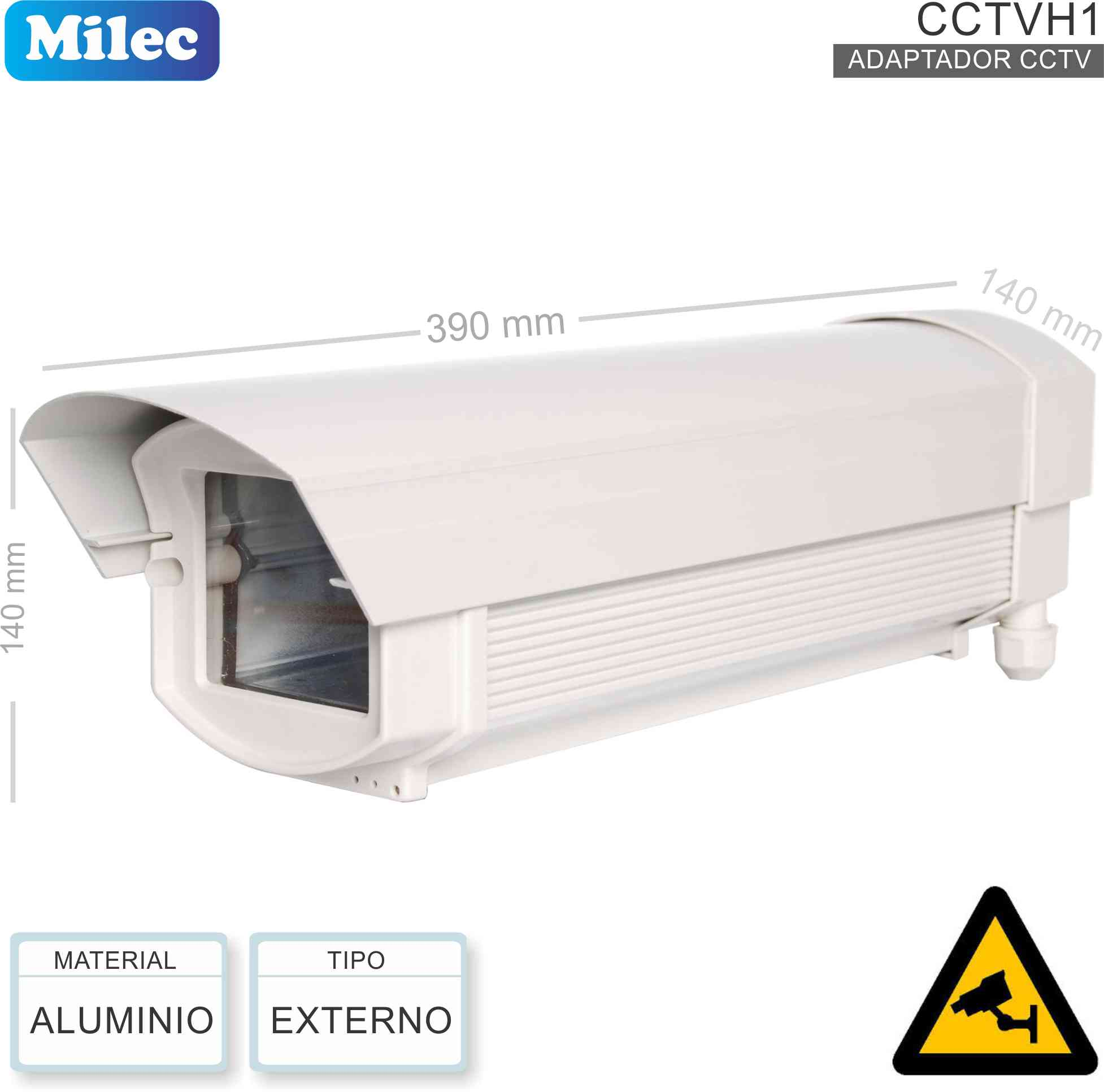 Housing CCTV Ext MILEC CCTVH1