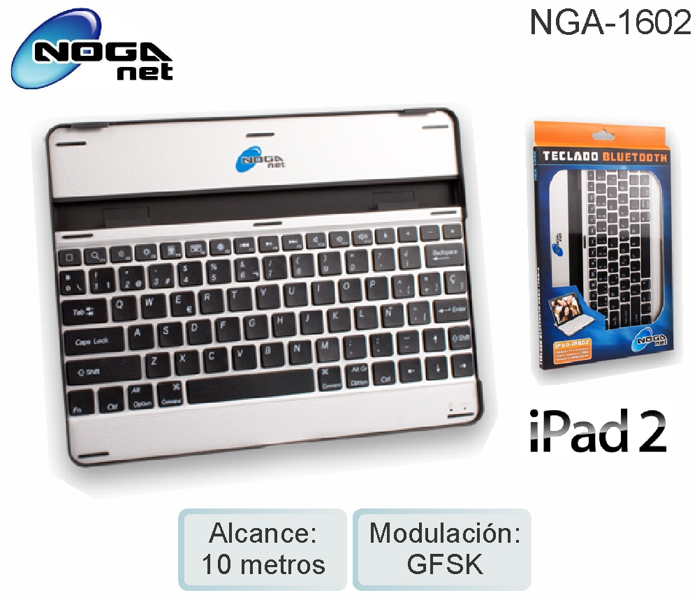 Teclado Bluetooth NGA-1602