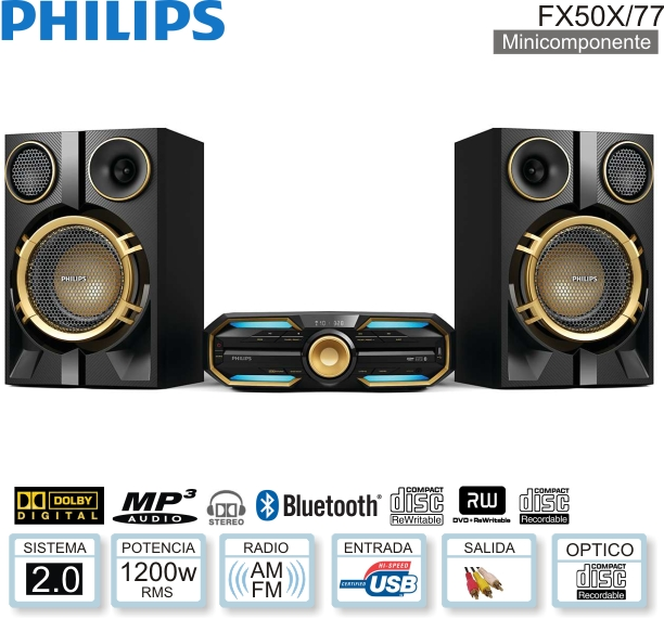 Minicomponente PHILIPS FX50X/77