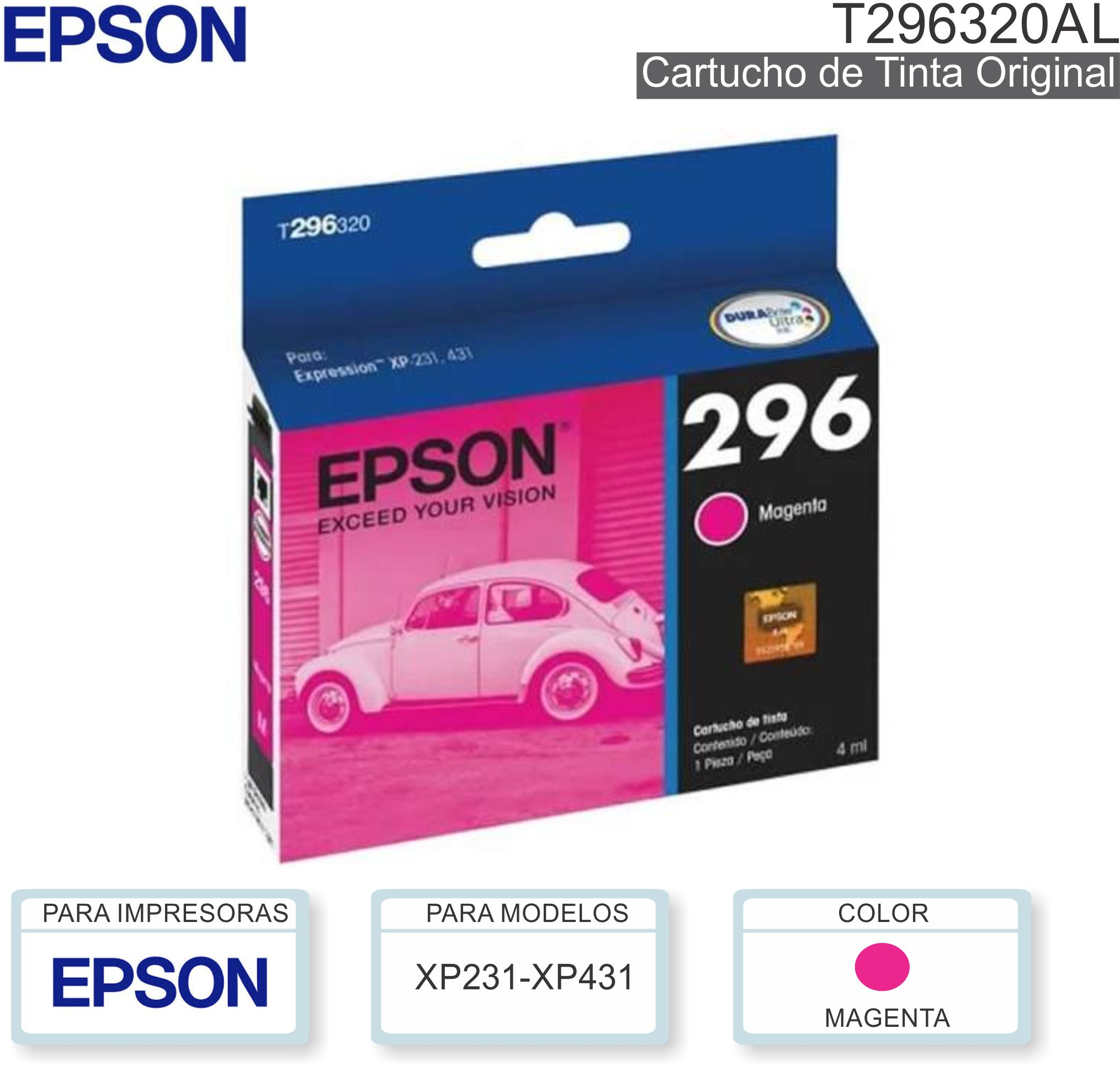 Cart EPSON 296 T296320 Mag