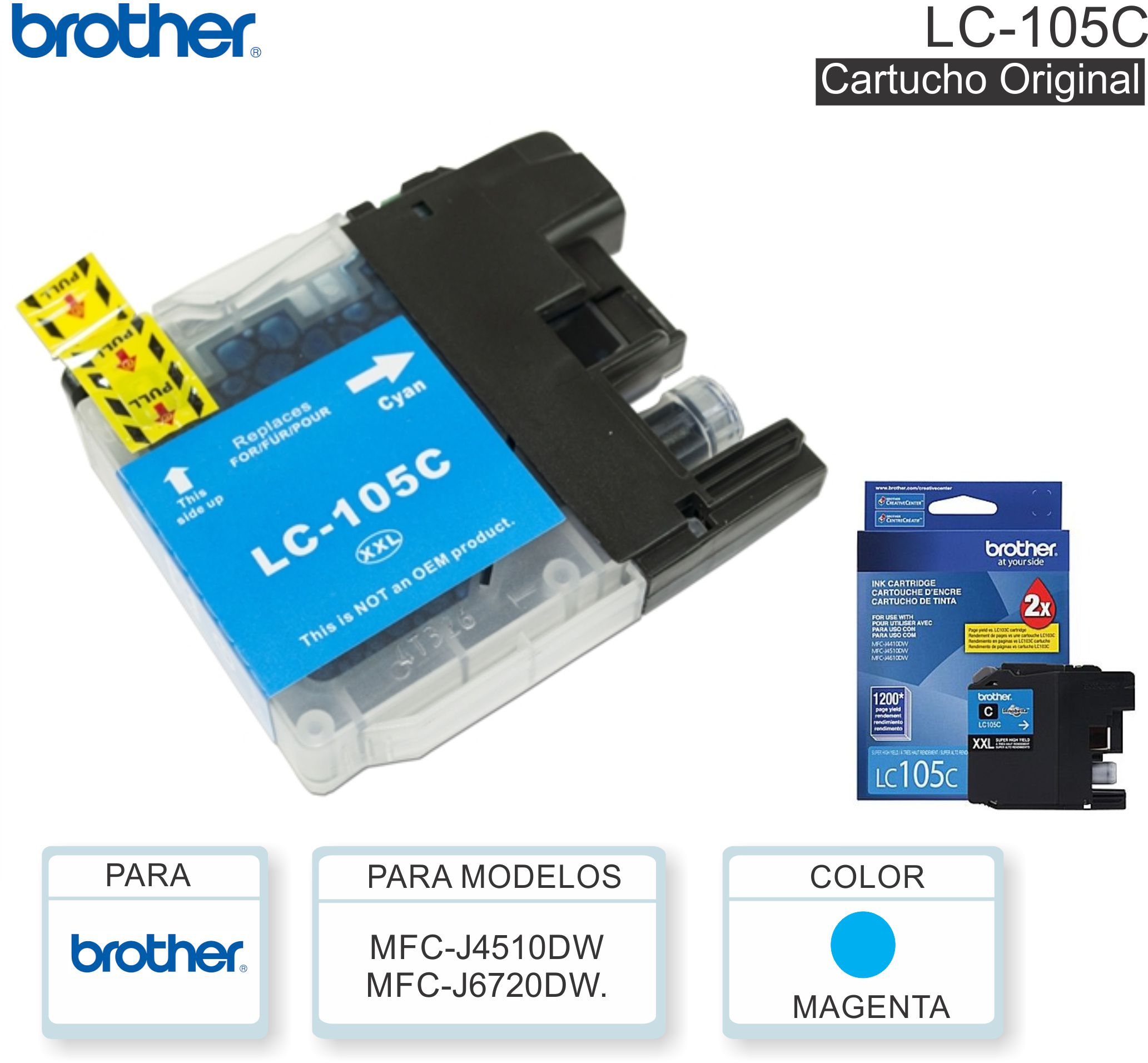 Cart BROTHER LC-105C Cia