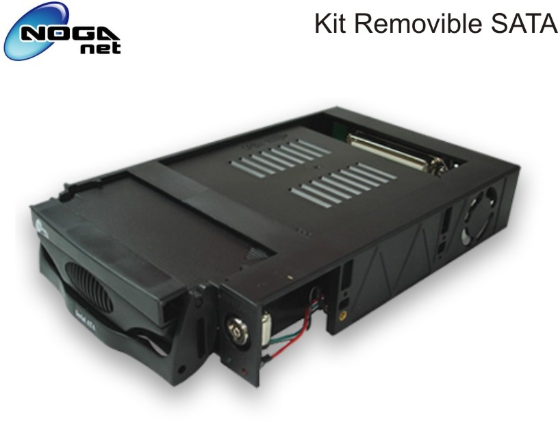 KIT REMOVIBLE HD SATA 3.5 NOGA RB-06SATA