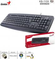 Teclado PS2 GENIUS KB-110X