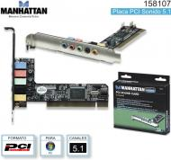 Placa PCI SONIDO 5.1 MANHATTAN 158107