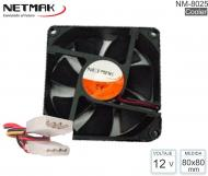 COOLER 080X080MM NETMAK NM-8025
