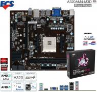 Mother AMD AM4 ECS A320AM4-M3D
