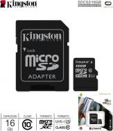 Mem MicroSD C10 16Gb KINGSTON SDCS2/16GB
