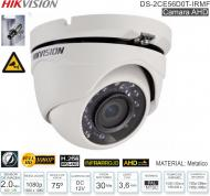 Cam Domo 2Mp Met HIKVISION DS-2CE56DOT-IRMF