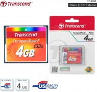 Mem Compact Flash 04 Gb TRANSCEND CF4GB