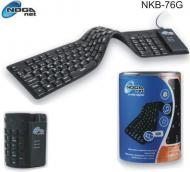 Teclado Flexible USB NOGA NKB-76NG