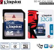 Mem SDHC C04 32Gb KINGSTON