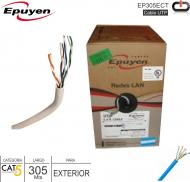 Cable UTP Cat5 Exterior 001M EPUYEN EP305ECT