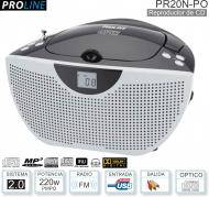 Reproductor CD PROLINE PR20N-PO 200W