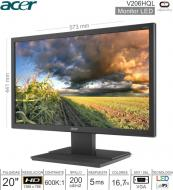 Monitor LED 20 HD ACER V206HQL UM.IV6AA.B08