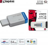 Pen Drive 064 Gb KINGSTON DT50-64 3.0