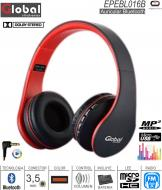 Auricular BT GLOBAL EPEBL016B BT/SD/FM