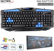 Teclado Gamer USB NETMAK NM-RAPTOR