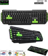 Teclado Gamer USB PANTER GK102