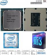 Procesador INTEL 1151 CORE I3 9100 9G