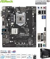 Mother INTEL 1151 8G-9G ASROCK H310CM-HDV