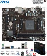 Mother AMD FM2 MSI A68HM-E33 V2