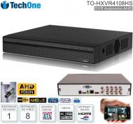 DVR 08 Can TECHONE TO-HXVR4108HS