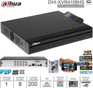 DVR 08 Can DAHUA DHI-XVR4108HS